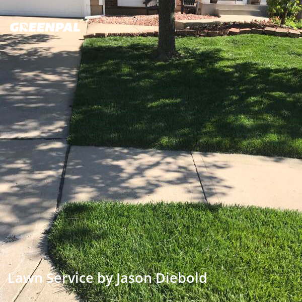 Grass Cuttingin Olathe,66062,Lawn Mowing Service by Odyssey Lawn Care, work completed in Aug , 2020