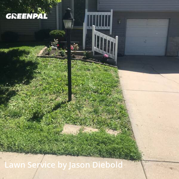 Lawn Mowingin Leavenworth,66048,Lawn Maintenance by Odyssey Lawn Care, work completed in Jul , 2020