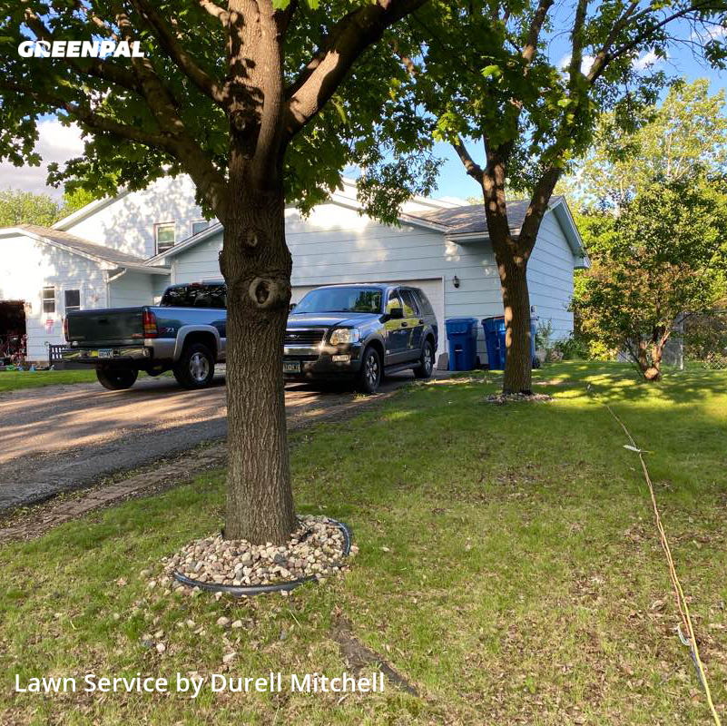 Lawn Servicein Coon Rapids,55433,Lawn Maintenance by Bound Landscaping , work completed in Aug , 2020