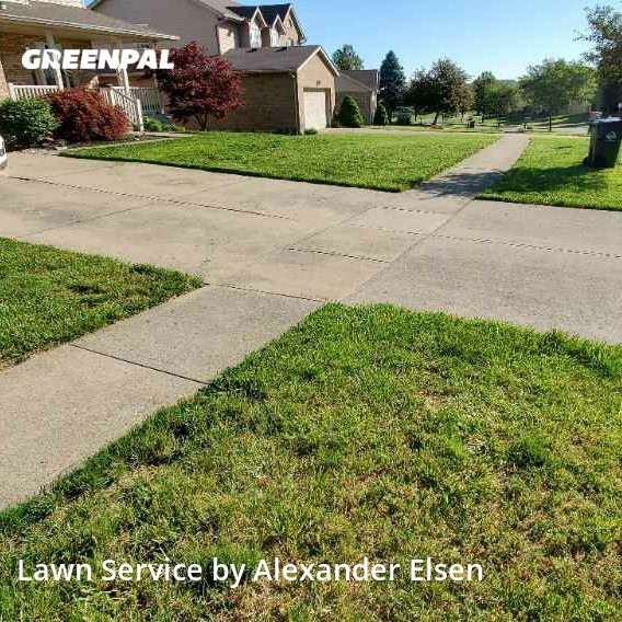 Lawn Mowin Fairfield,45014,Lawn Cutting by Right Cut Lawn Care, work completed in Aug , 2020