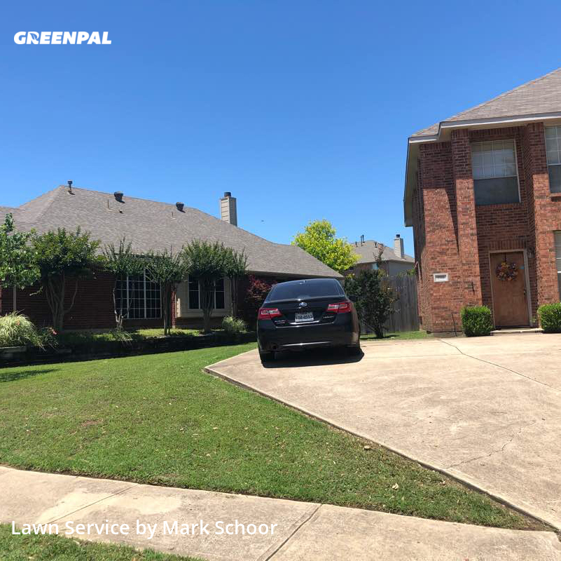 Lawn Mowin Sachse,75048,Lawn Care Service by Blue Ridge Lawns , work completed in Jul , 2020