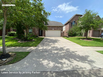 Yard Cuttingin Cypress,77433,Lawn Service by Parker Landscaping, work completed in Jul , 2020