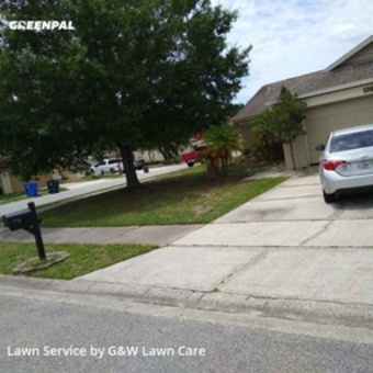 Grass Cutin Oviedo,32765,Lawn Service by G&W Lawn Care , work completed in Jul , 2020
