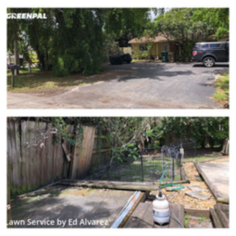 Grass Cutting in Davie, 33314, Lawn Mowing by Edilson Landscaping, work completed in 29 May, 2020