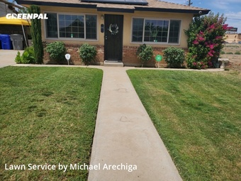 Grass Cut in Fresno, 93650, Lawn Service by Low Cost Landscaping, work completed in 29 May, 2020