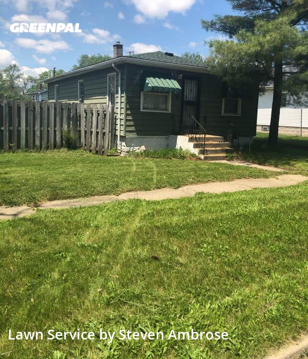 Lawn Cutin Gary,46409,Lawn Mow by 4brothers, work completed in Oct , 2020