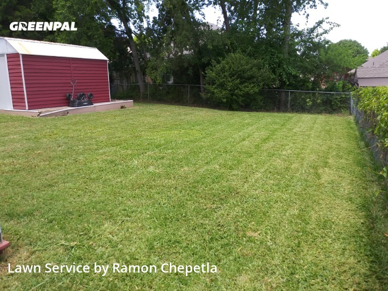 Lawn Mowingin Rockwall,75087,Lawn Care Service by Aby Landscaping, work completed in Jul , 2020