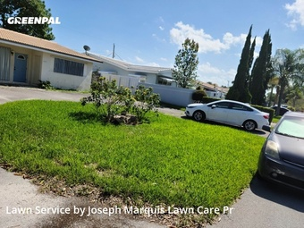 Lawn Servicein Fort Lauderdale,33334,Lawn Mowing Service by Marquis Lawn Care Pr, work completed in Jul , 2020