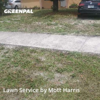 Lawn Carein Fort Lauderdale,33309,Yard Cutting by Mott Harris, work completed in Jul , 2020