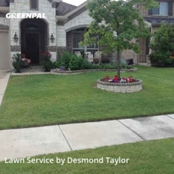 Yard Mowingin Frisco,75034,Lawn Service by Taylor Made Lawn , work completed in Jul , 2020