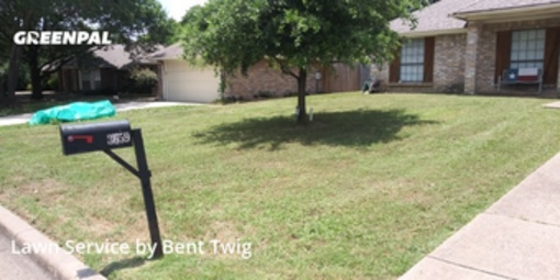 Lawn Carein Grand Prairie,75052,Lawn Service by Bent Twig, work completed in Jul , 2020