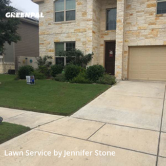 Yard Mowingin Converse,78109,Lawn Maintenance by Jj's Mobile Services , work completed in Jul , 2020