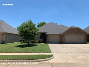 Lawn Maintenancein Burleson,76028,Grass Cutting by Lawns By G, work completed in Jul , 2020