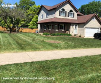 Lawn Servicein Bolingbrook,60440,Grass Cut by Unrivaled Landscaping, work completed in Sep , 2020