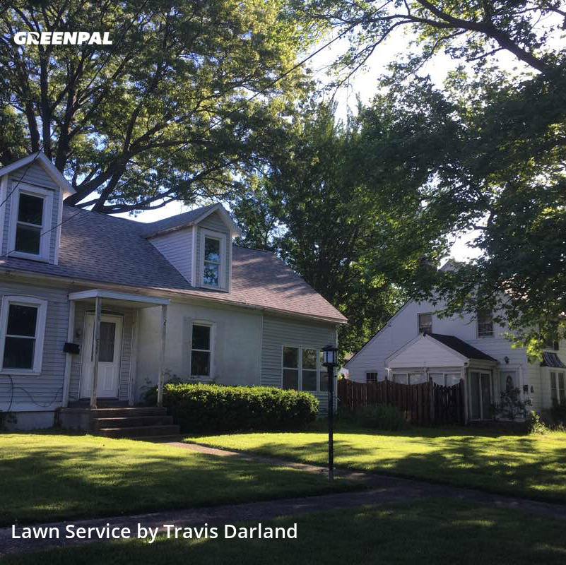 Lawn Mowin Greenville,62246,Yard Cutting by The Grass Guys , work completed in Jul , 2020