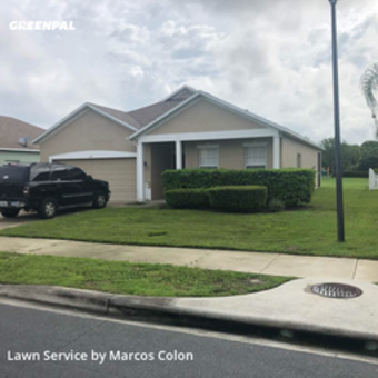 Yard Cuttingin Sanford,32771,Lawn Mow by Dunamis Lawn Care , work completed in Jul , 2020