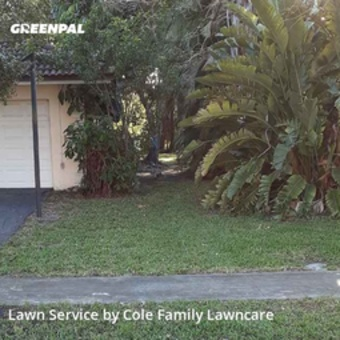 Yard Mowingin Plantation,33317,Lawn Cutting by Cole Family Lawncare, work completed in Jul , 2020