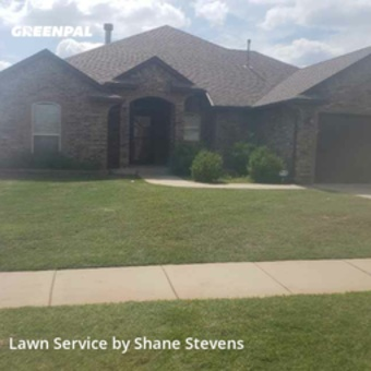 Lawn Care Servicein Moore,73160,Grass Cutting by Stevens Lawn Service, work completed in Jul , 2020