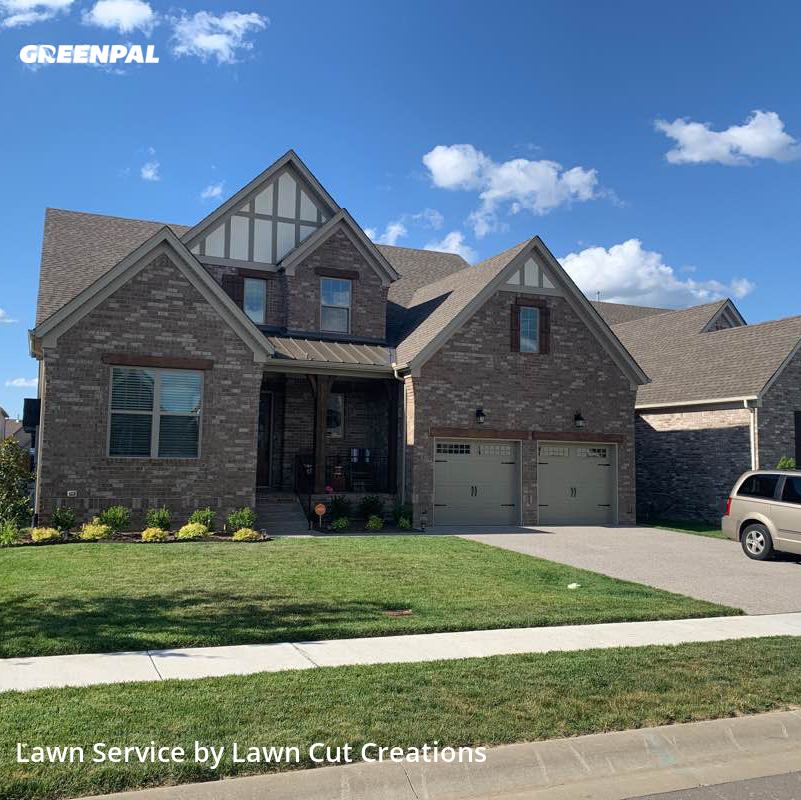 Yard Cuttingin Nolensville,37135,Yard Cutting by Lawn Cut Creations, work completed in Jul , 2020