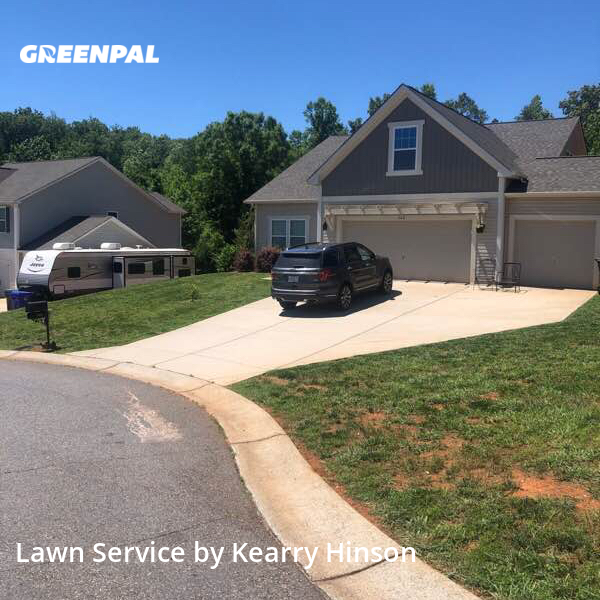 Lawn Servicein Midland,28107,Grass Cut by Hinson Lawn Care, work completed in Oct , 2020