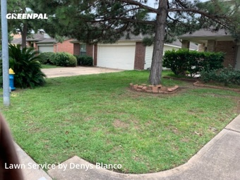 Yard Mowingin Cypress,77433,Grass Cutting by Dmd Lawn Service , work completed in Jul , 2020