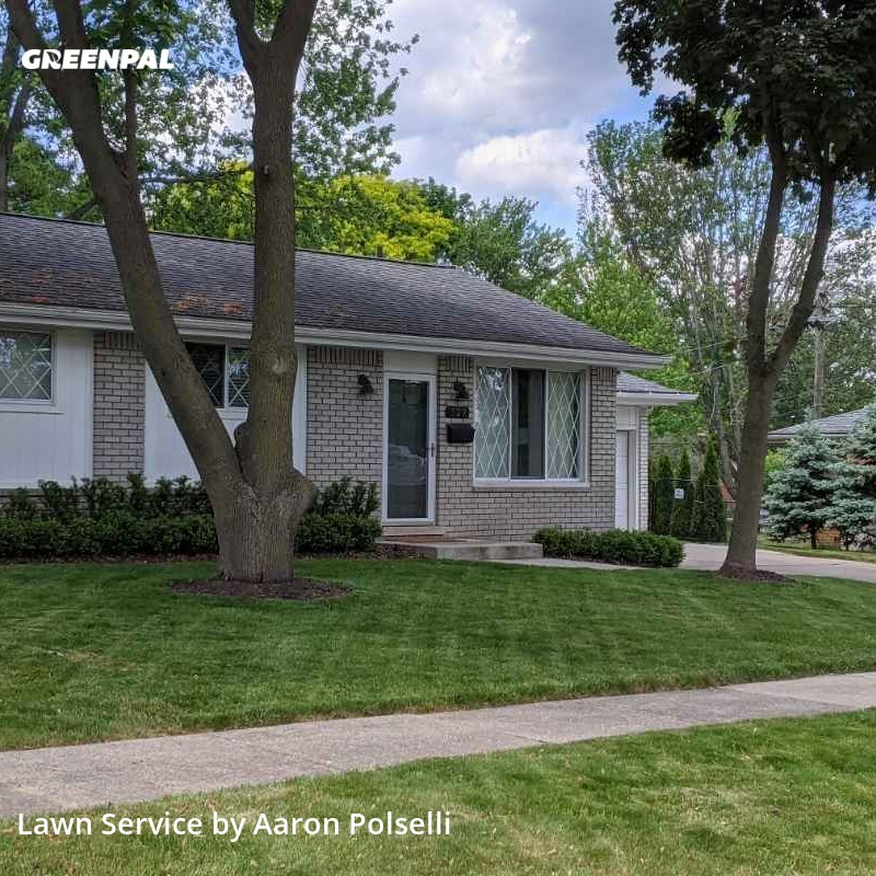 Lawn Servicein Rochester,48307,Lawn Care by Aj's Landscaping & L, work completed in Aug , 2020