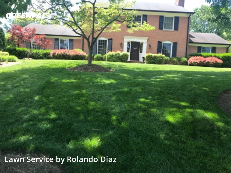 Yard Mowingin Potomac,20854,Yard Mowing by Diaz Landscaping Llc, work completed in Aug , 2020