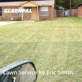 Lawn Cutin White Settlement,76108,Yard Mowing by Full Bloom Landscape, work completed in Sep , 2020