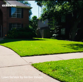 Lawn Mowing Servicein League City,77573,Lawn Cut by Prizel Lawn Services, work completed in Jul , 2020