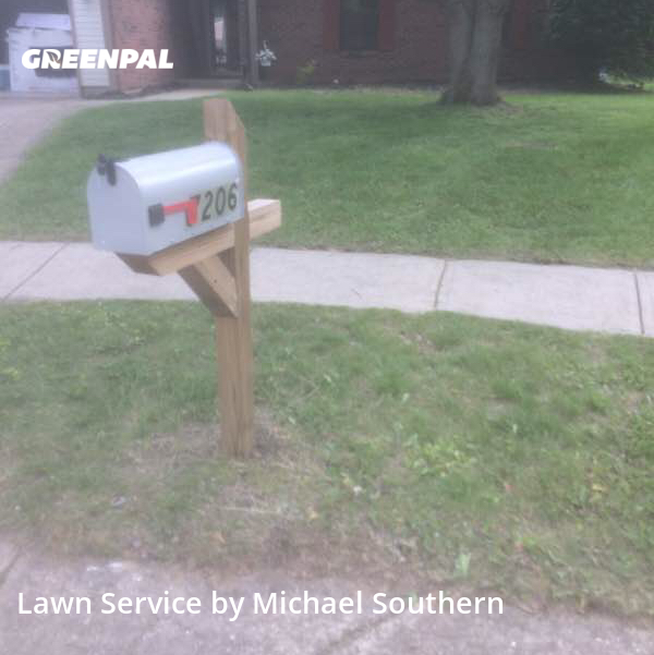 Lawn Mowin Lawrence,46236,Lawn Mow by Bee Bear Property Care, work completed in Oct , 2020