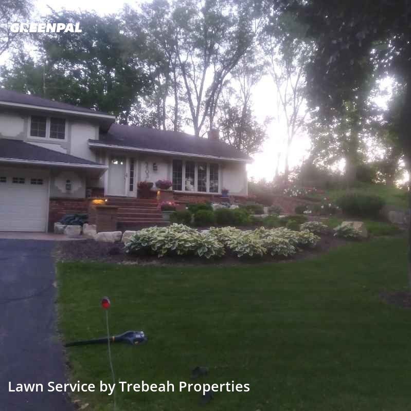 Yard Mowingin Eagan,55123,Lawn Mowing Service by Trebeah Properties, work completed in Aug , 2020