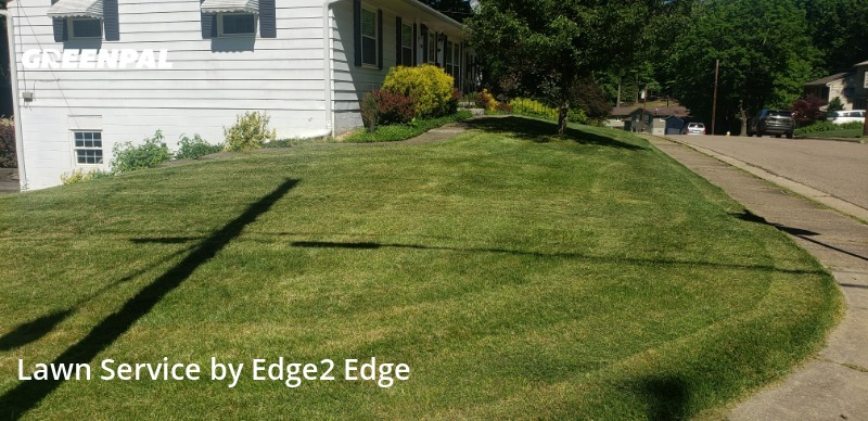 Lawn Cuttingin Akron,44313,Yard Mowing by Edge2 Edge , work completed in Jul , 2020