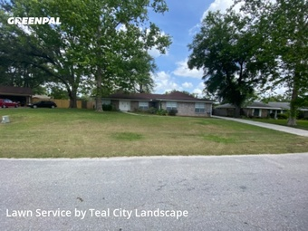 Lawn Carein Orange Park,32073,Grass Cut by Teal City Landscape, work completed in Aug , 2020