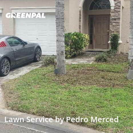 Lawn Cutin Davenport,33837,Lawn Care Service by J&J Landscaping , work completed in Oct , 2020