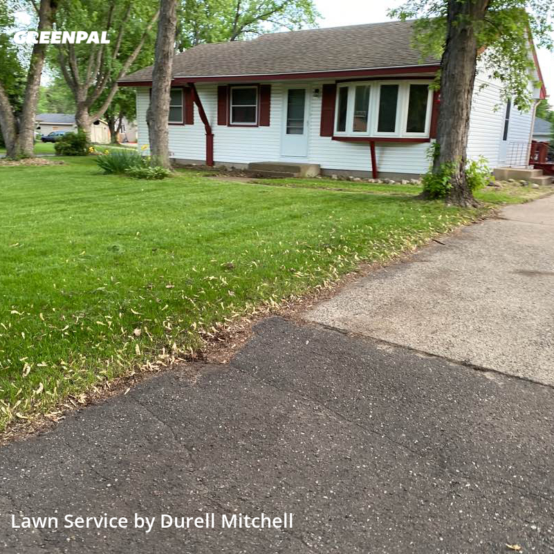 Lawn Cutin Blaine,55434,Grass Cut by Bound Landscaping , work completed in Aug , 2020