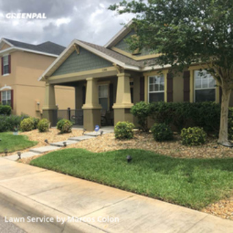 Yard Mowingin Apopka,32703,Grass Cut by Dunamis Lawn Care , work completed in Aug , 2020