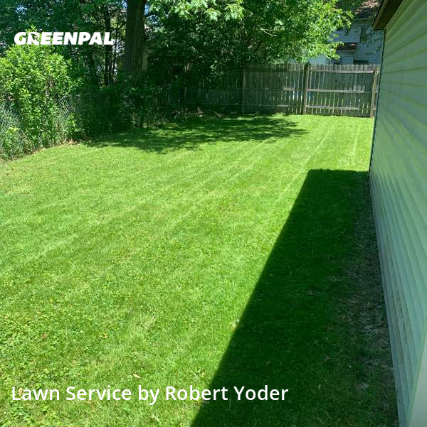 Lawn Servicein Akron,44314,Lawn Mow by Yoder's Lawn Care, work completed in Jul , 2020