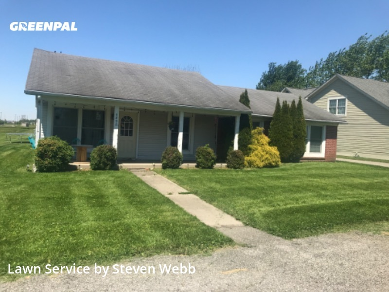 Grass Cutin Zionsville,46077,Yard Mowing by Webb Landscaping, work completed in Jul , 2020