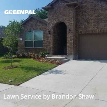 Lawn Cutin Saginaw,76131,Lawn Mowing by A Man And His Mower , work completed in Sep , 2020