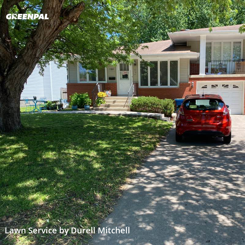 Grass Cutin Edina,55410,Lawn Mowing by Bound Landscaping , work completed in Aug , 2020