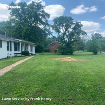 Grass Cuttingin Mt Juliet,37122,Lawn Mow by Hardy's Elite Scapes, work completed in Sep , 2020