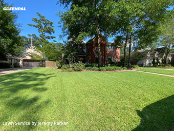Yard Cuttingin Spring,77389,Lawn Mow by Parker Landscaping, work completed in Jul , 2020