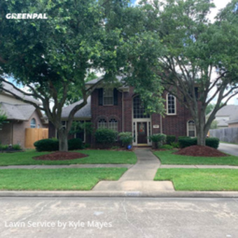 Lawn Maintenancein Cinco Ranch,77494,Lawn Cut by Dynamic Lawncare, work completed in Jul , 2020