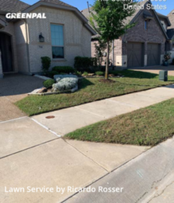 Lawn Mowing Servicein Lewisville,75056,Lawn Cutting by A&R Services, work completed in Jul , 2020