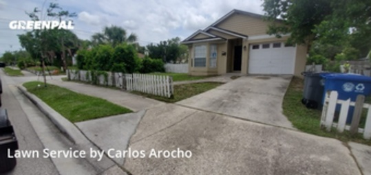Lawn Maintenancein Winter Park,32789,Lawn Care Service by Arocho Landscaping , work completed in Sep , 2020