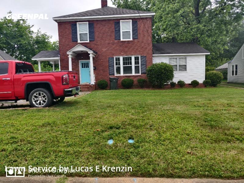 Lawn Cuttingin Rock Hill,29730,Lawn Care by Lucas E Krenzin, work completed in Jul , 2020
