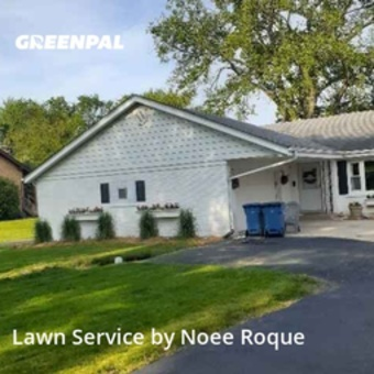 Lawn Care Servicein Elmhurst,60126,Yard Mowing by Roque Landscaping , work completed in Jul , 2020