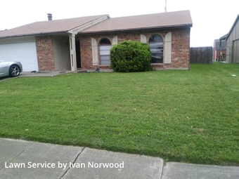Lawn Cutin Grand Prairie,75052,Lawn Cut by Perfect Turf Llc, work completed in Jul , 2020