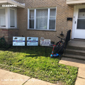 Lawn Mowin Skokie,60076,Lawn Mow by Pepeslawncareservices, work completed in Jul , 2020