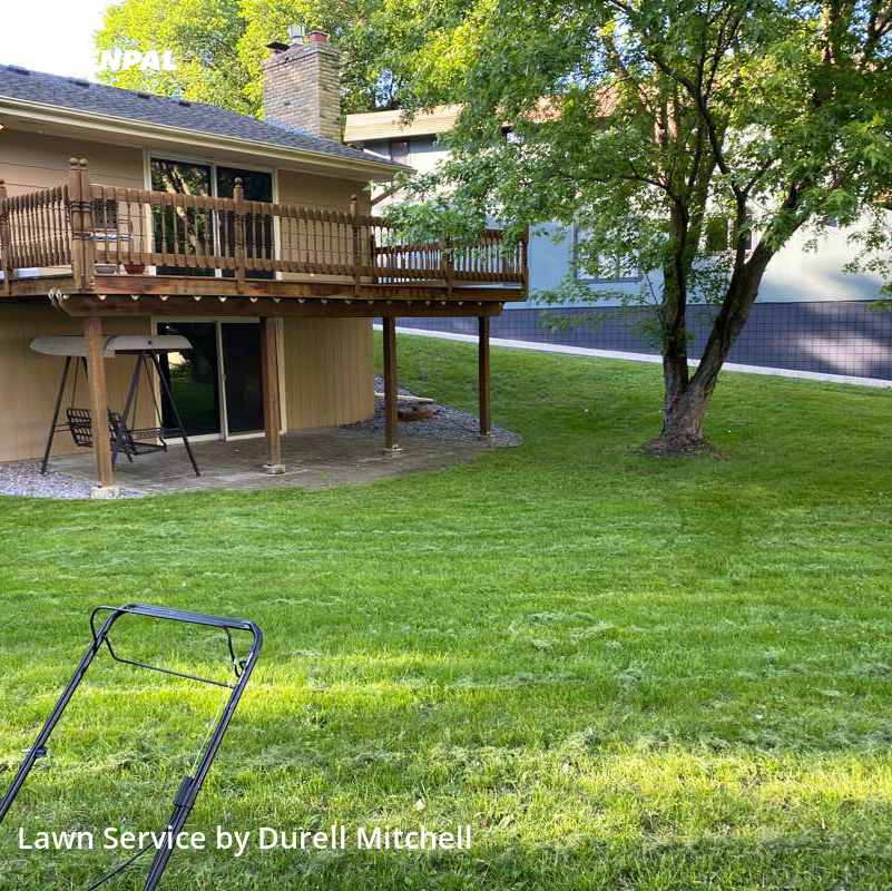 Lawn Mowing Servicein St. Louis Park,55416,Yard Cutting by Bound Landscaping , work completed in Jul , 2020